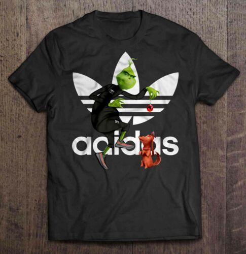 Adida 1Grinch And Max Christmas T-shirts Xmas Holiday Gift Ideas Men Women