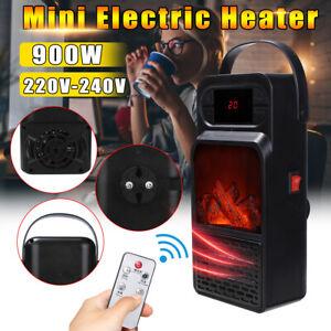 900W-220-240V-Mini-Portable-Timer-Electric-Fan-Heater-Warmer-Fast-Heater