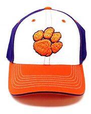 Clemson Tigers Ru Orange Retro Theme Scrub Hat