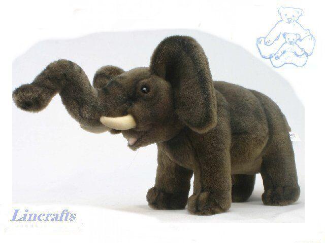 Toy Soft Plush Elephant Hansa Sold 3694 1993 Established