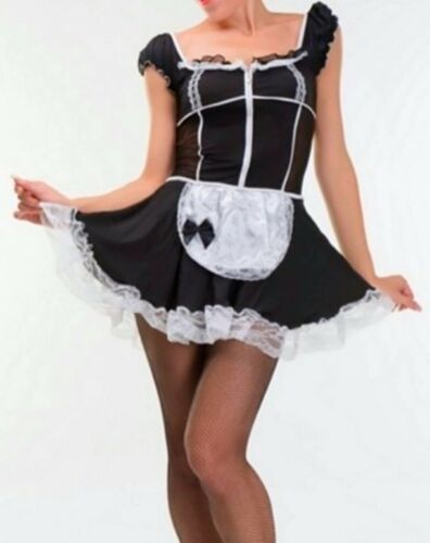 Shipping Plus Size Beautiful French Maid Costume size M L XL 2XL Fast U.S