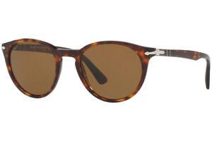 29851cd5f68 New Persol PO3152S 9015 57 Brown Havana Polarized Sunglasses 49mm ...