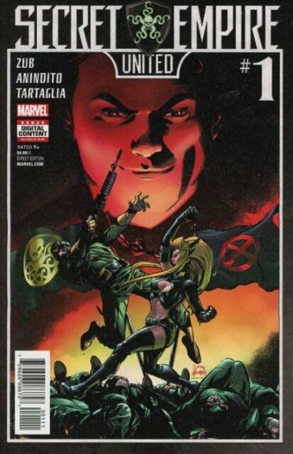 Secret Empire United #1 One Shot Marvel Comic 2017 NM
