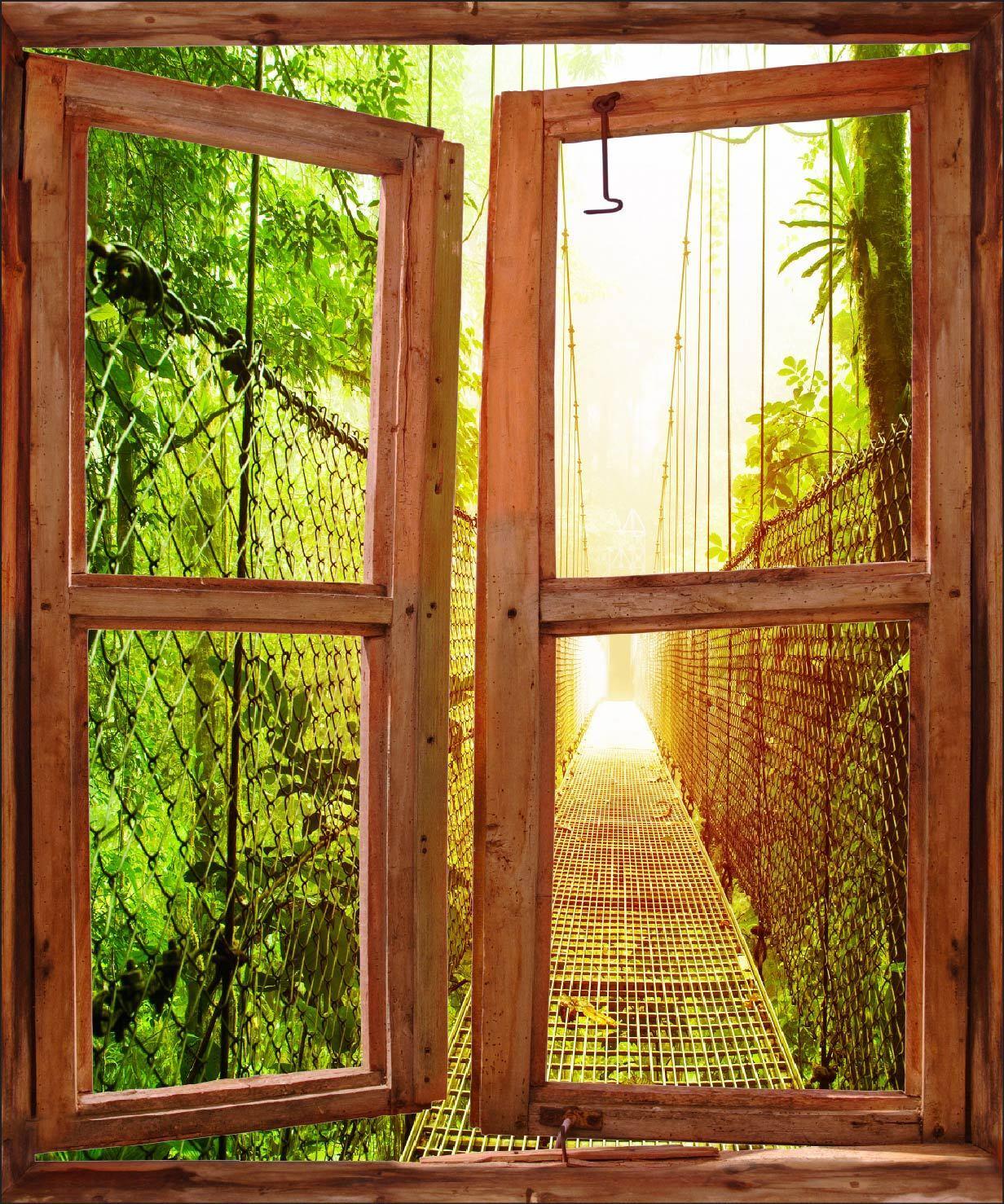 Aufkleber Fenster Schein Auge Deko Ref 5242