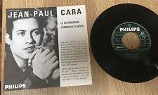 SP 45 tours juke-box Jean-Paul CARA Le saltimbanque L'amandier d'amour 1965