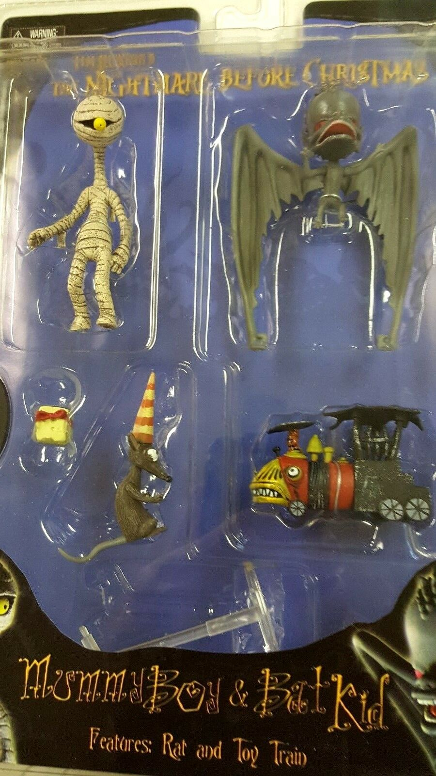 Nightmare Before Christmas - Tim Burton's MUMMY BOY & BAT KID series 4