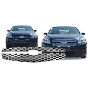 Chrome-Grille-Overlay-Compatible-with-2013-Chevy-Malibu-LS-LT-ECO