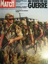 PARIS MATCH N° 2153 GEORGES BUSH MARINES 1ere GUERRE EN IRAK 1990