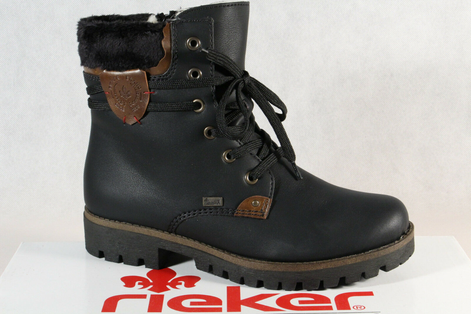 Rieker Ladies Tex Ankle Boots Winter Boots Black 785G5 New