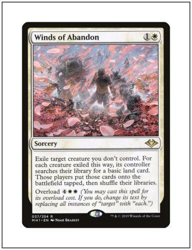 Modern Horizons Magic the Gathering MTG NM 1x Winds of Abandon