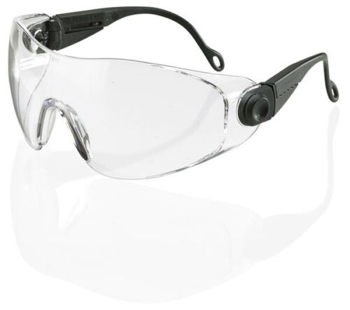 B Brand BBDS DIEGO Safety Eye Protection Spectacles//Glasses CLEAR Lens