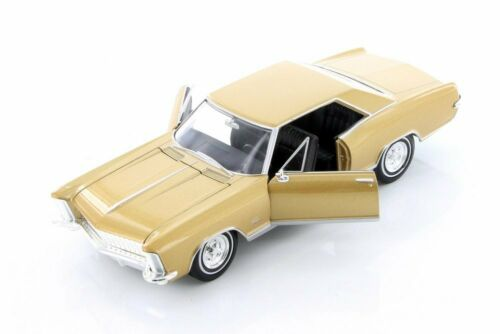 1965 BUICK RIVIERA GRAND SPORT HARDTOP WELLY 24072WG 1//24 scale DIECAST CAR