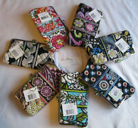 Vera Bradley Double Kisslock Clutch Wallet Coin For Purse Tote Bag Backpack