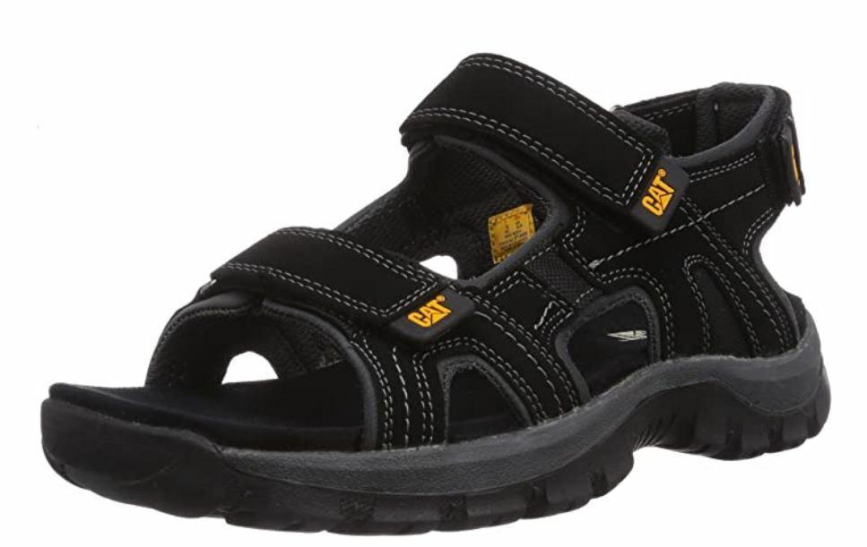 Cat Giles Oxford P716653 Men's Adjustable Walking Sandals Black UK Size 6 Wide