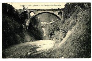 CPA 73 Savoie Flumet Pont de Bellecombe