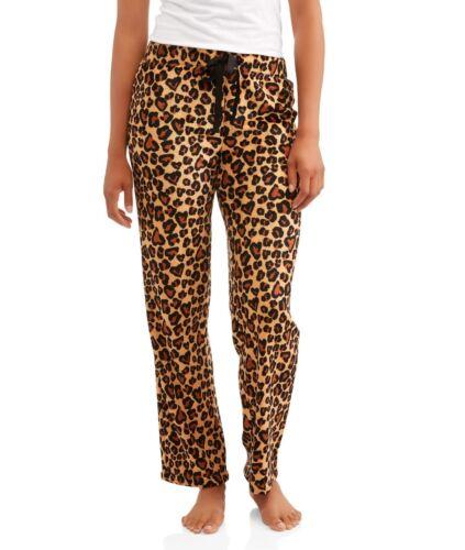 NEW Secret Treasures CHEETAH PLUSH Lounge SLEEP Pajama PANTS Women/'s 3XL 22W 24W