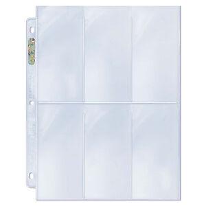 Ultra-Pro-Platinum-6-Pocket-2-5-034-x-5-25-034-Pages-50-count