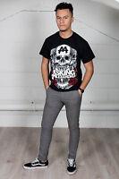 Official Asking Alexandria Black Shadow Unisex T-Shirt Flag Eater Full Blooded