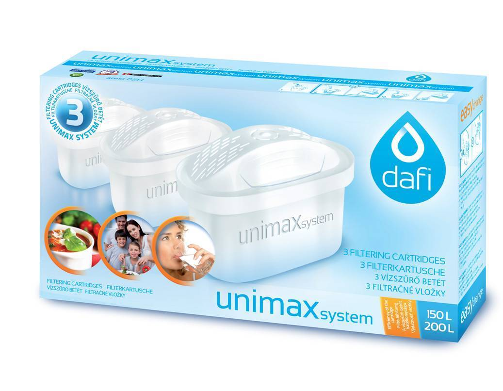 24 Cartouches Dafi Unimax pour Brita Maxtra PearlCo Filtre à eau