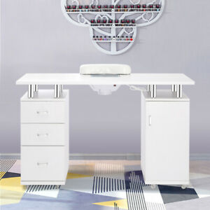 Manicure Nail Art Table Desk Workstation 3 Drawers