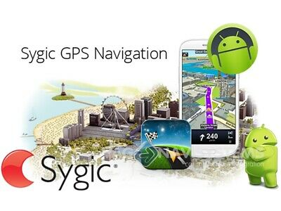 Sygic GPS Map Card 16GB World Maps for Android GPS