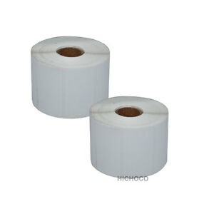 "2 Roll 2.25""x1.25"" Direct Thermal Barcode Label Zebra ..."