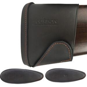 Tourbon-Leather-Slip-on-Recoil-Pad-Rifle-Shotgun-Buttstock-Extension-Large-Small