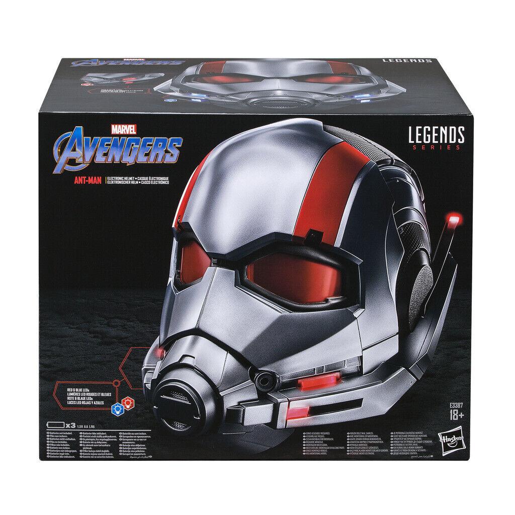 Avengers - Casco Electrónico  Legends Ant Man (Hasbro E3387EU4)