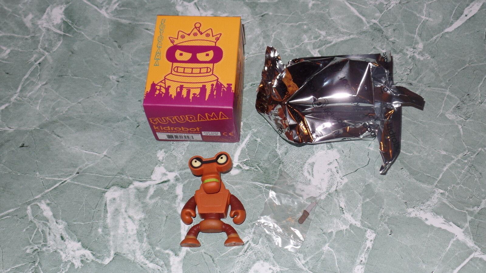 Kidrobot Futurama Series 2 Roberto 3  Vinyl Figure Complete Robot Knife New 1 20