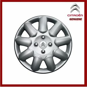 genuine citroen c1 c2 c3 14 steel wheel trim hub cap prima x1 ebay. Black Bedroom Furniture Sets. Home Design Ideas