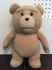 Talking Plush TED Bear Movie 2012 **SWEARS, RUDE,** Seth McFarlane Family Guy