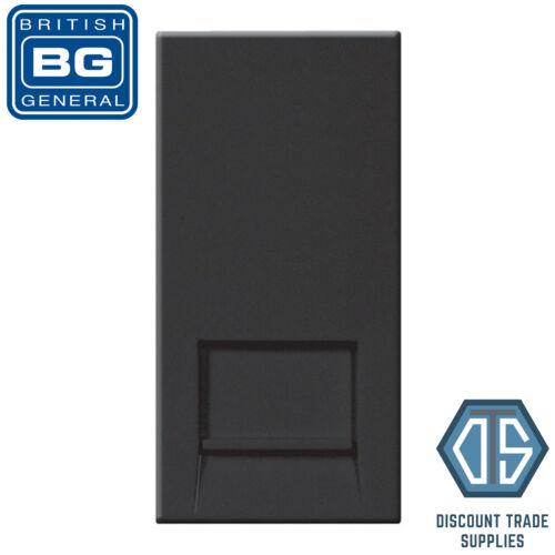 BG Nexus Black EMRJ11B RJ11 Telephone Outlet Euro Module