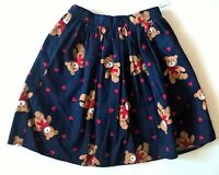 Girls 3t Blue Teddy Bear Skirt