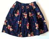 Girls 3t Blue Teddy Bear Skirt