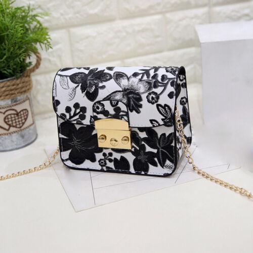 Useful Fashion Embroidery Flower Printing Handbag Shoulder Bag Crossbody Bag