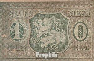 KüHn Österreich Notgeld Der Stadt Steyr Bankfrisch 1921 10 Heller Professionelles Design