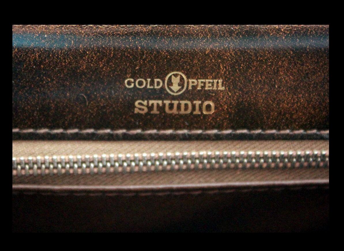 GoldPFEIL GoldPFEIL GoldPFEIL Studio LUXUS Handtasche LEDER Ledertasche ABENDTASCHE Damentasche 1A   Treten Sie ein in die Welt der Spielzeuge und finden Sie eine Quelle des Glücks  12eb9e