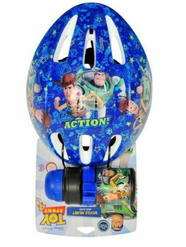New 2 pcs toy Story Buzz Lightyear Bike scooter Helmet /& bottle Set 54-58cm