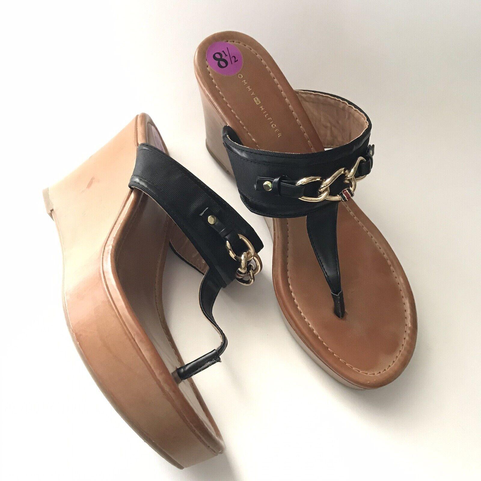 tommy hilfiger Womens Sandal Size 8.5M Melane Tho… - image 2
