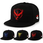 Pokemon Go Baseball Hat Team Valor Mystic Instinct Cosplay Cap Hat Unisex