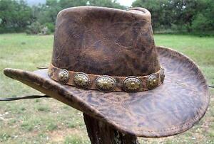 NEW USA MADE Henschel WALKER Brown Crunch Leather Western Cowboy Hat + size avai
