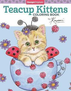 Teacup Kittens Coloring Book by Kayomi Harai (2016, Paperback) | eBay