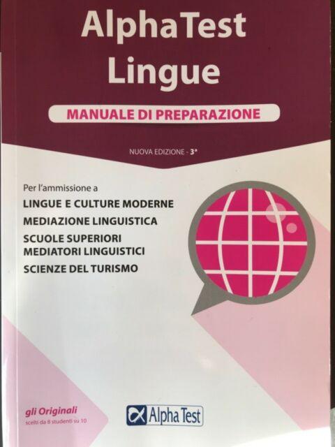 ALPHA TEST LINGUE(2)E CULTURA GENERALE (1) Nuova Edizione (3a)