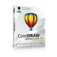 CorelDRAW Graphics Suite X6 Special Edition OEM - 1 Nutzer - DE/EN - DVD - NEU