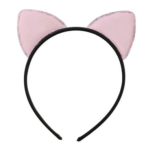 Sequins Hairband Cat Ear Cosplay Headband Women Girls Headwear Party Gifts Pn