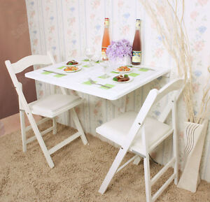 SoBuy®Mesa plegable de pared,mesa de comedor de madera,75x60cm,FWT01 ...