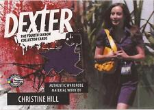 "Dexter Season 4 - D4-C CHP Christine Hill ""Dress"" Costume Card"