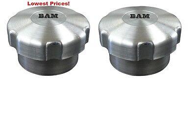 SPUN ALUMINUM GAS TANK 1//4 TURN VENTED CAP WITH ALUM FILLER NECK