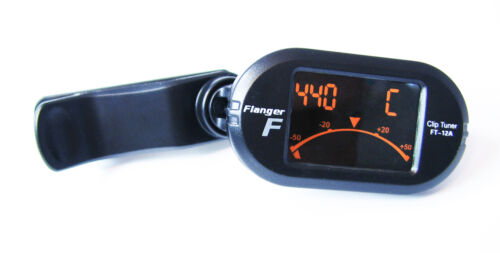 5-Mode Chromatic Clip-On A Great Value! Compact Digital Guitar Tuner