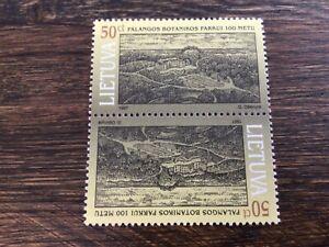 Stamps LITHUANIA 🇱🇹 MNH 1997 Centenary of Palanga Botanical Park, Pair